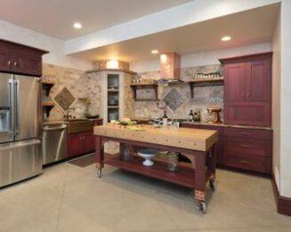 painting interior kitchen