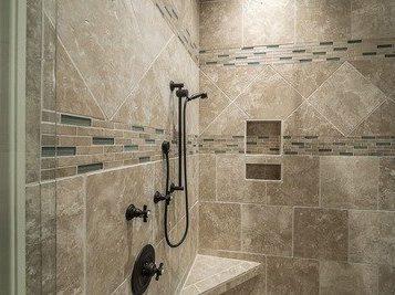 tiling shower